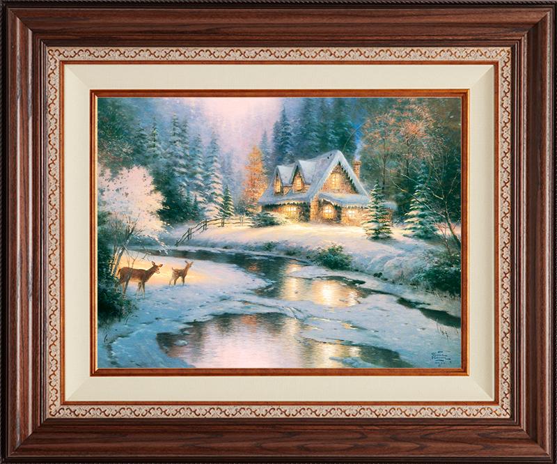 Deer Creek Cottage - Deluxe Walnut-New Walnut