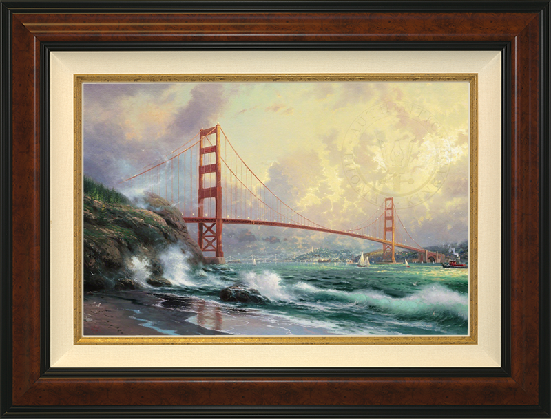 Golden Gate Bridge, San Francisco- Burlwood