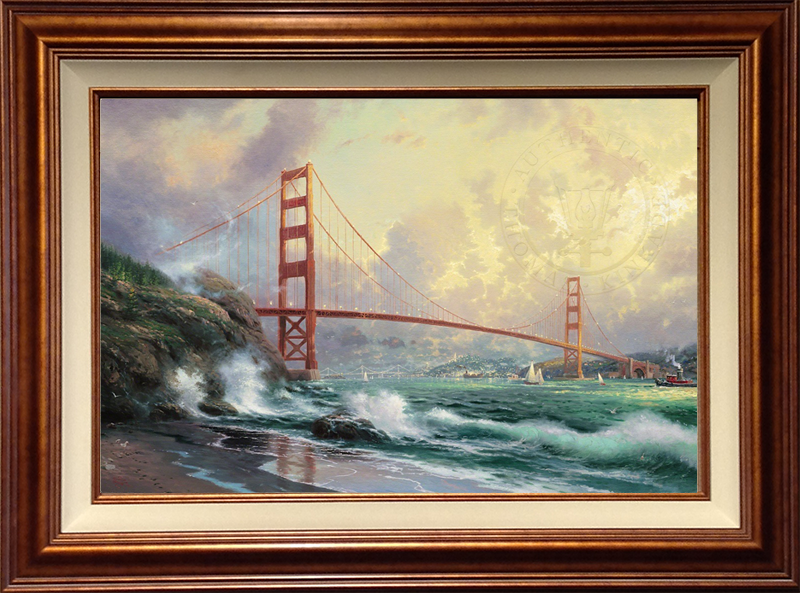 Golden Gate Bridge, San Francisco- Copper