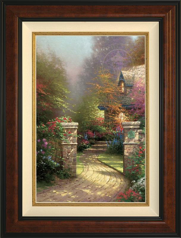 Rose Gate - Burlwood