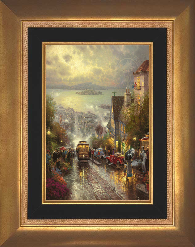 Hyde Street and the Bay, San Francisco - Aurora Gold