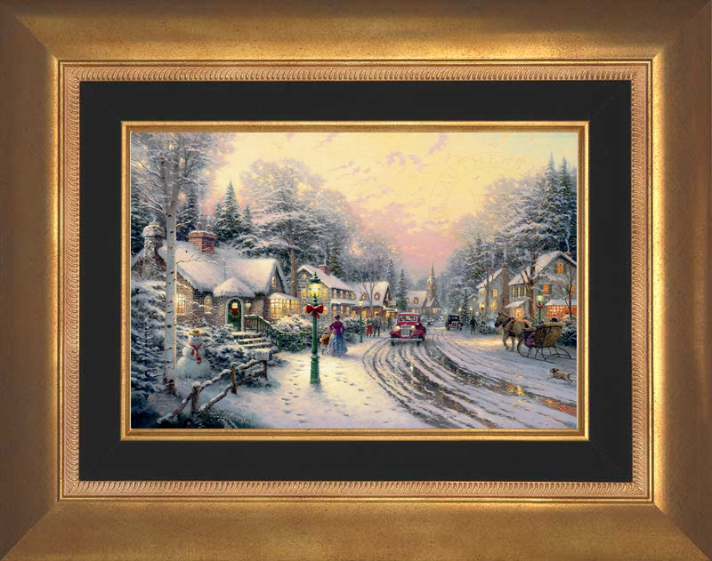 Village Christmas -- Aurora Gold
