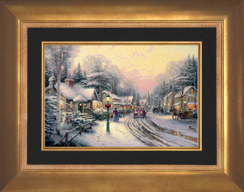 Village Christmas - Aurora Gold