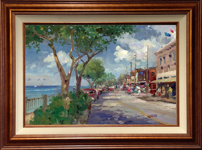 Front Street, Lahaina -Copper