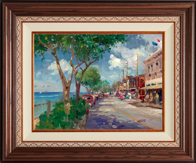 Front Street, Lahaina -Deluxe Walnut-New Walnut