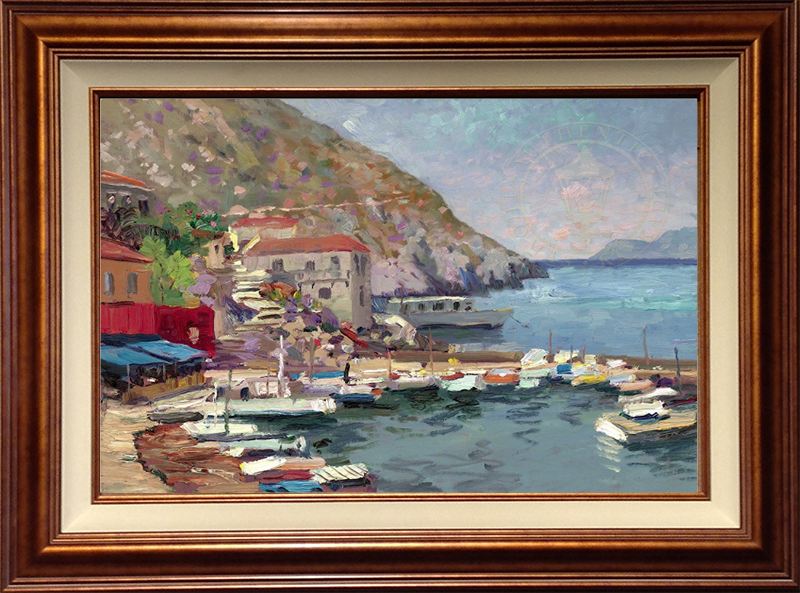 Island Afternoon, Greece - Copper