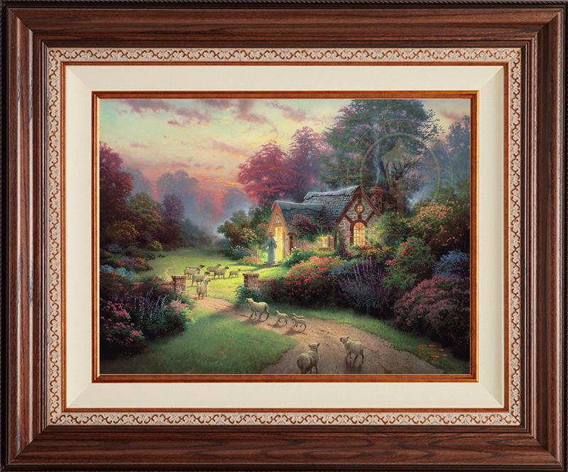The Good Shepherd's Cottage - Deluxe Walnut
