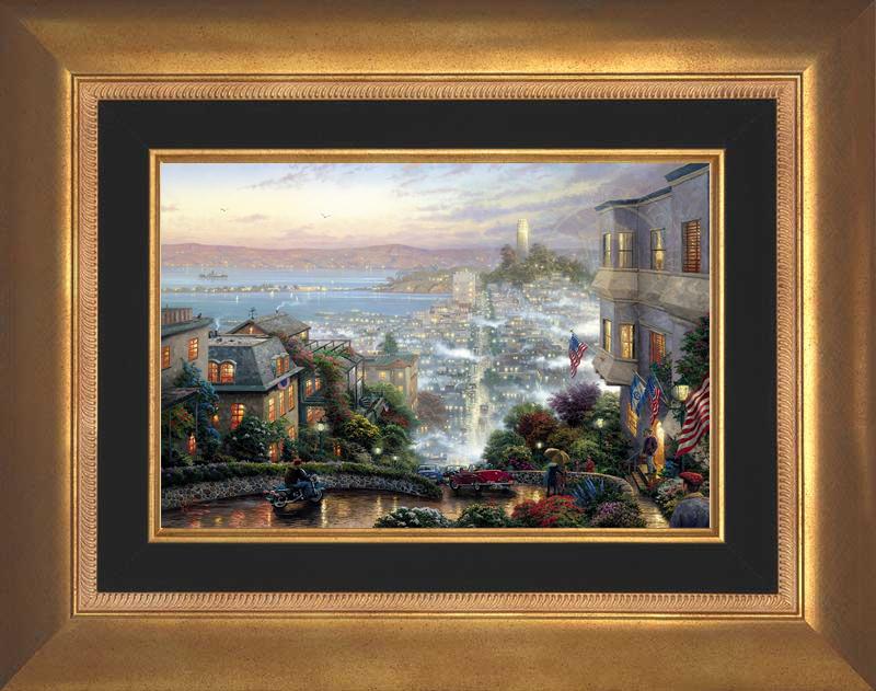 San Francisco, Lombard Street - Aurora Gold