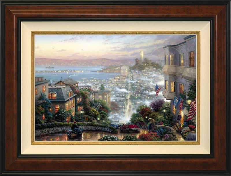 San Francisco, Lombard Street - Burlwood