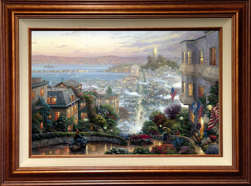 San Francisco, Lombard Street - Copper