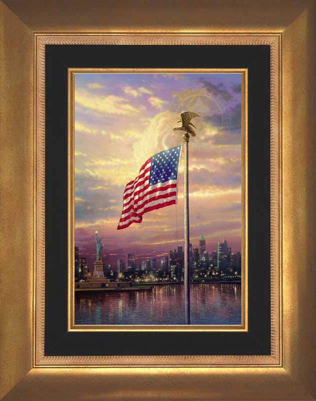 Light of Freedom -- Aurora Gold