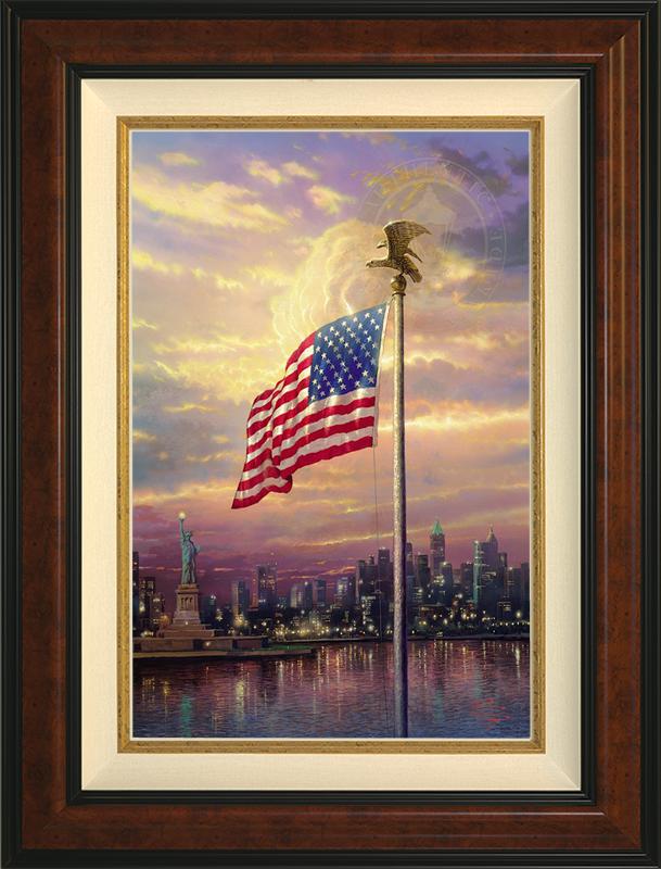 Light of Freedom -- Burlwood