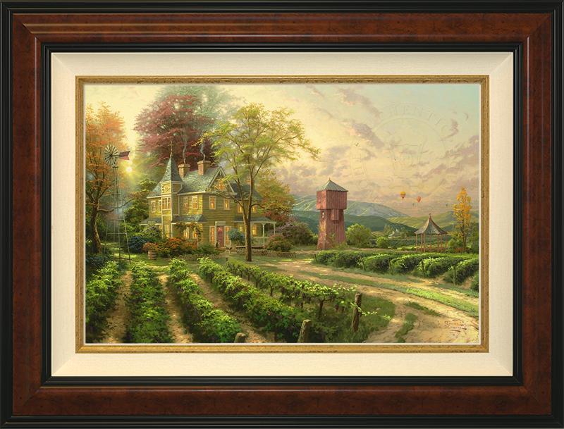 Abundant Harvest - Burlwood