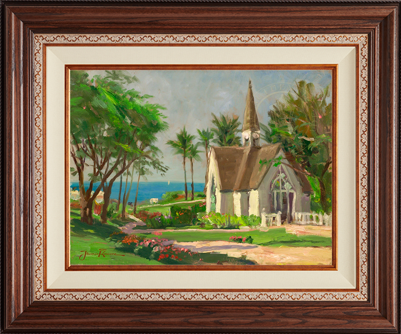 Wailea Chapel -Deluxe Walnut-New Walnut