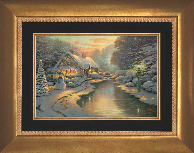 A Christmas Evening -- Aurora Gold