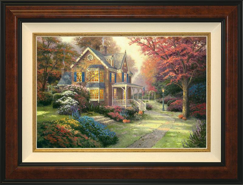 Victorian Autumn -Burlwood