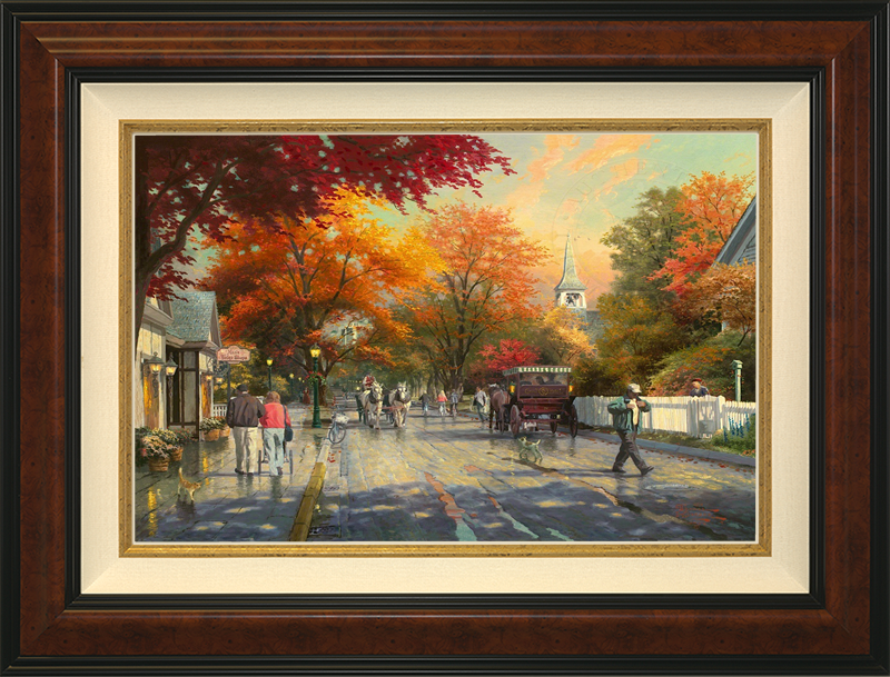 Autumn on Mackinac Island -- Burlwood