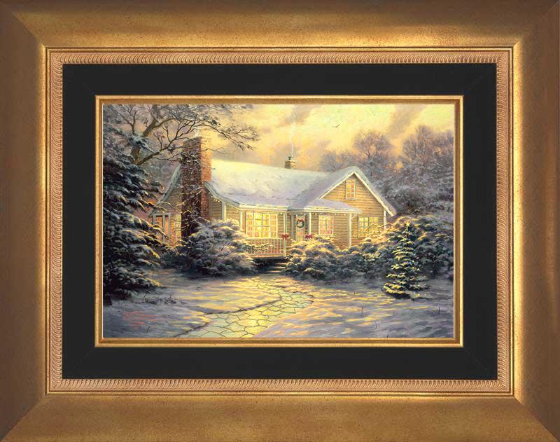 Christmas Cottage - Aurora Gold