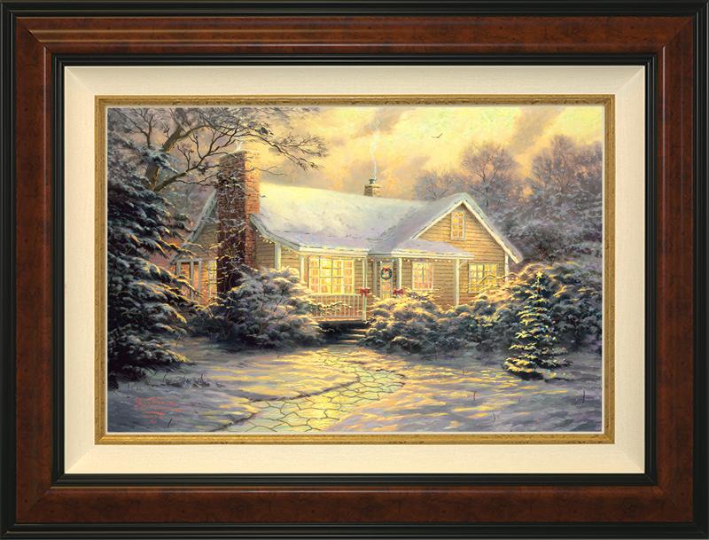 Christmas Cottage - Burlwood
