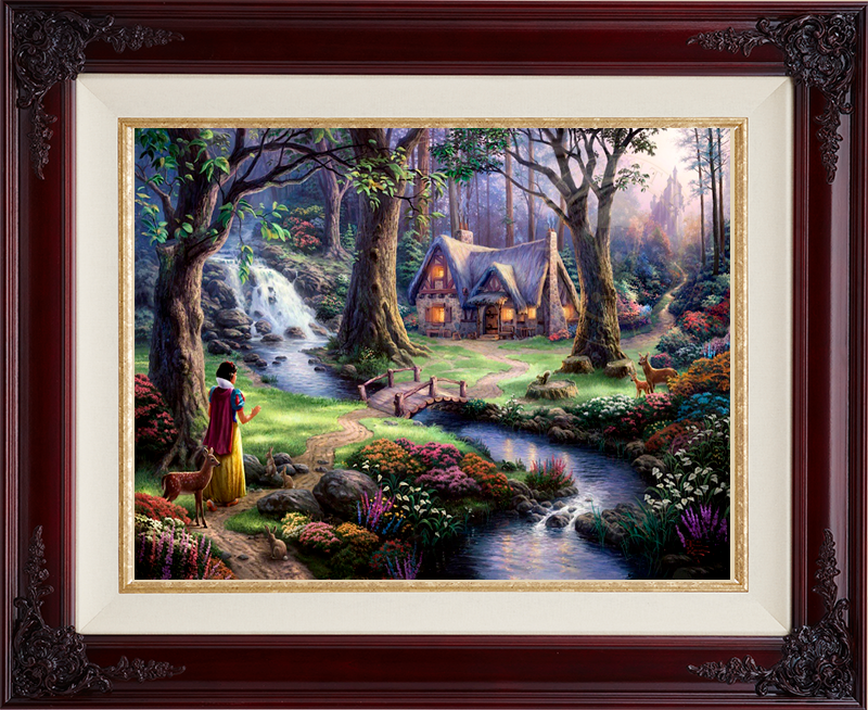 Snow White Discovers the Cottage - Brandy