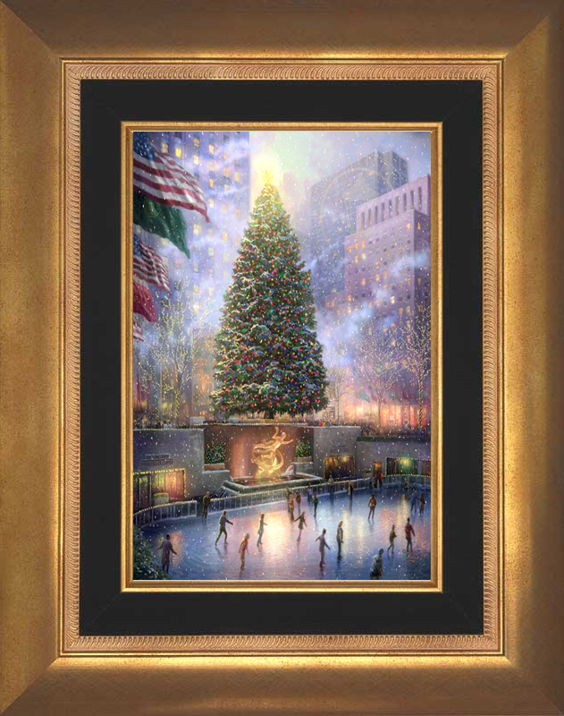 Christmas in New York -- Aurora Gold