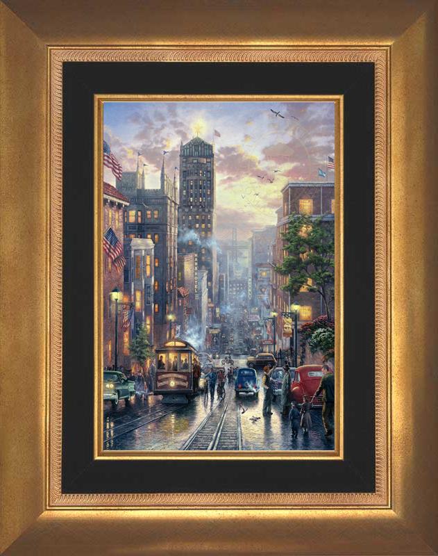 San Francisco, Powell Street - Aurora Gold
