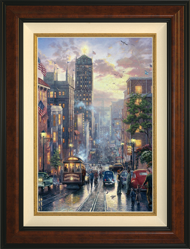 San Francisco, Powell Street - Burlwood