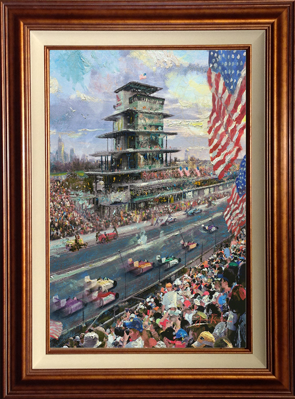 Indianapolis Motor Speedway Study -- Copper