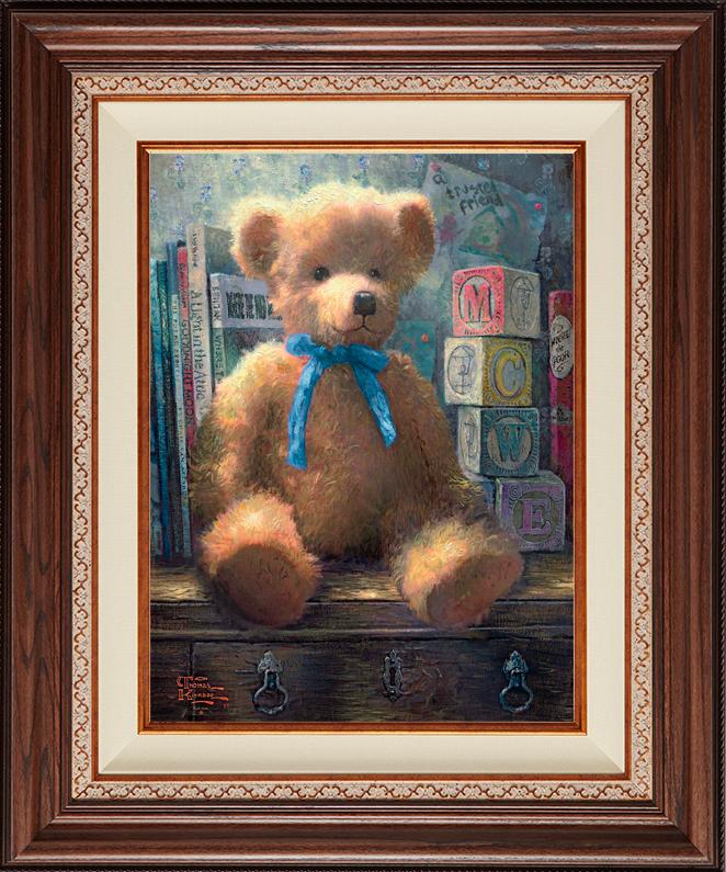 A Trusted Friend -- Blue Bell -- Deluxe Walnut