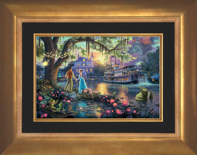 The Princess and the Frog - Aurora Gold