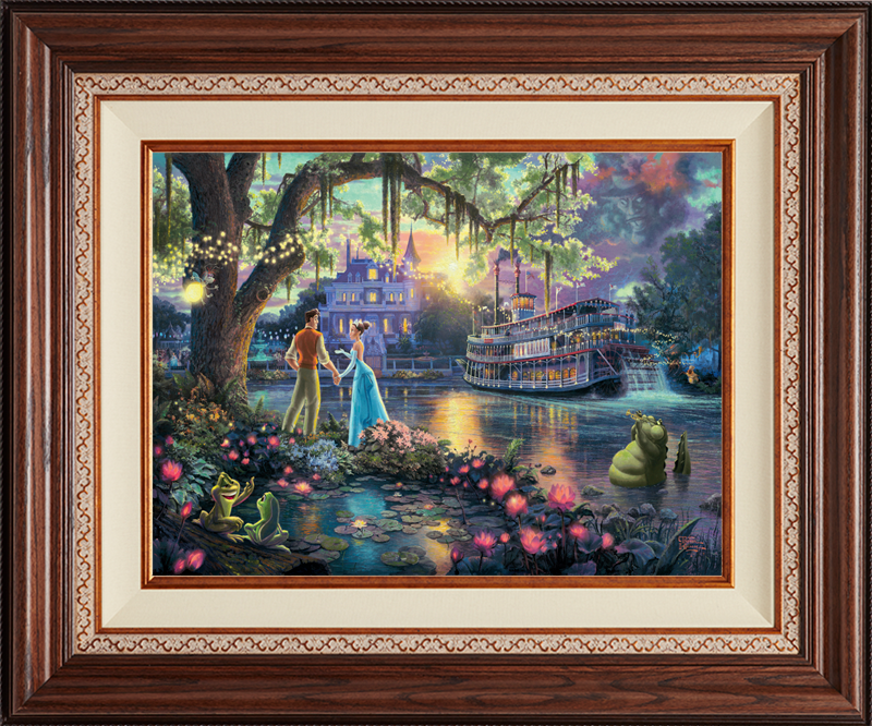 The Princess and the Frog - Deluxe Walnut-New Walnut