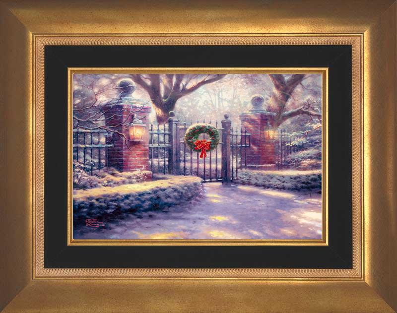 Christmas Gate -- Aurora Gold