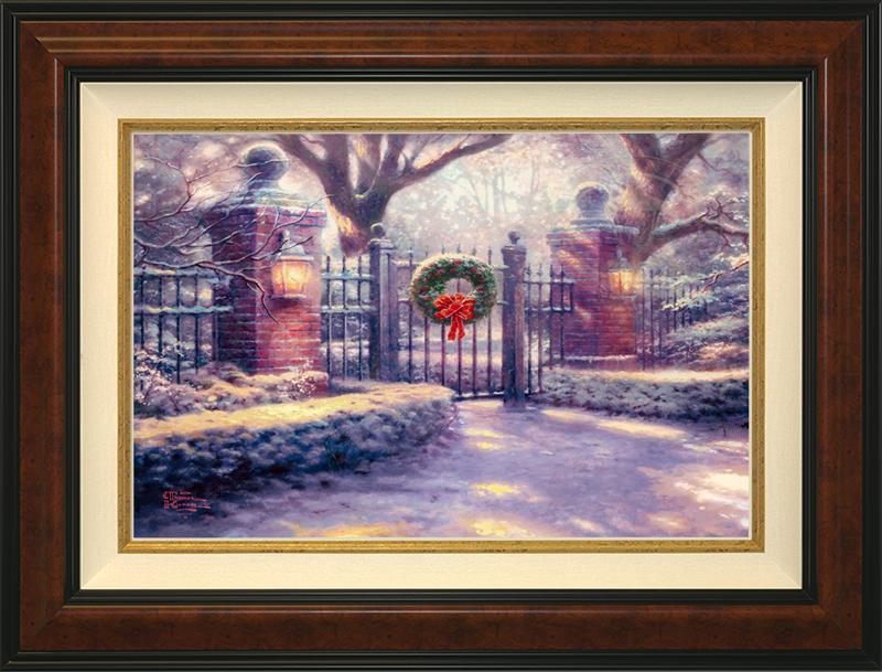 Christmas Gate -- Burlwood