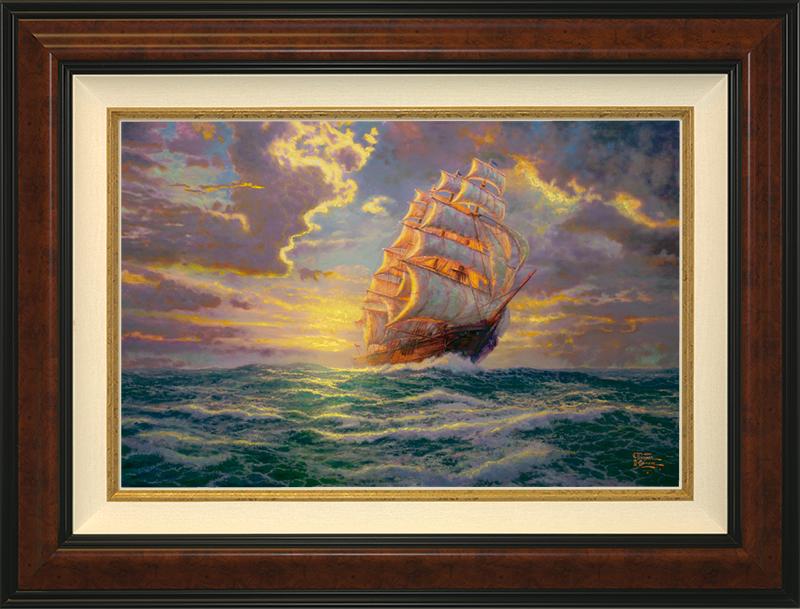 Courageous Voyage - Burlwood