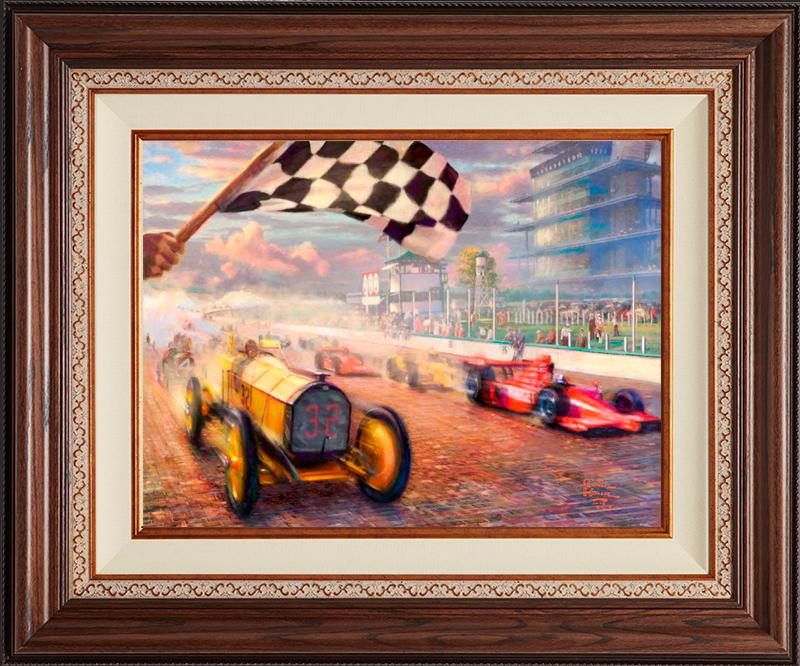 A Century of Racing -- Deluxe Walnut
