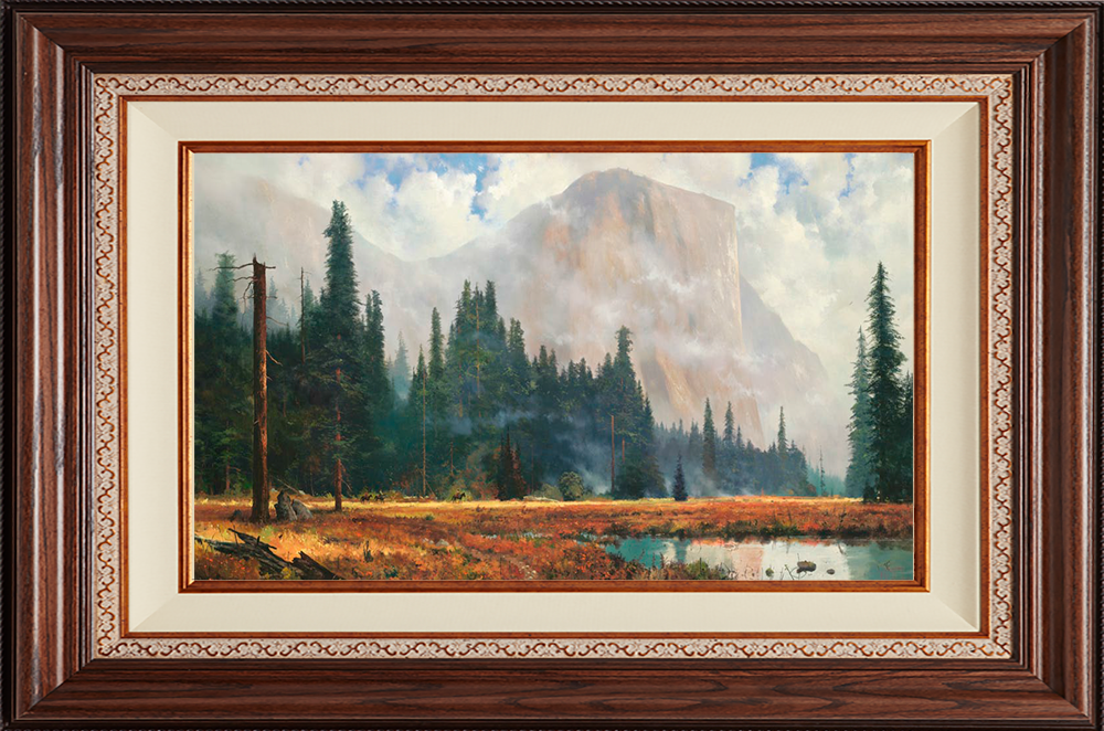 Yosemite Meadow -- Deluxe Walnut