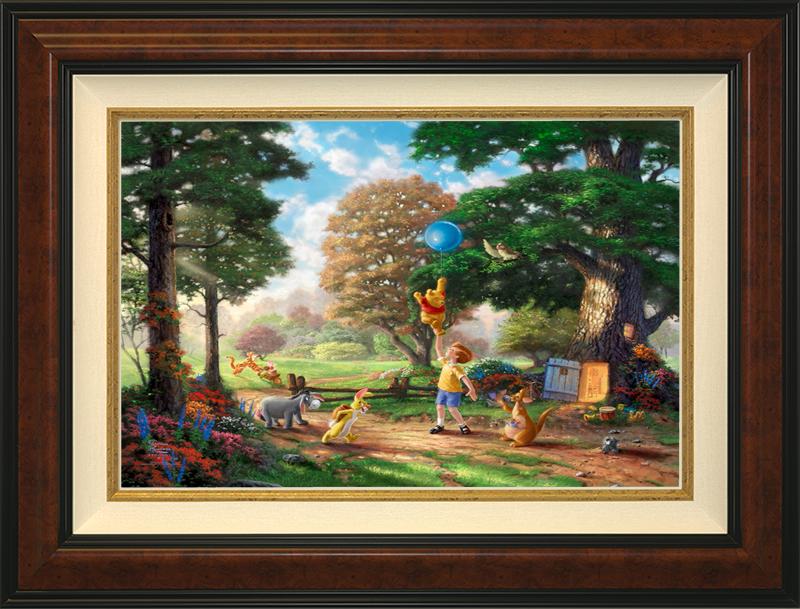 Winnie the Pooh II - Burlwood