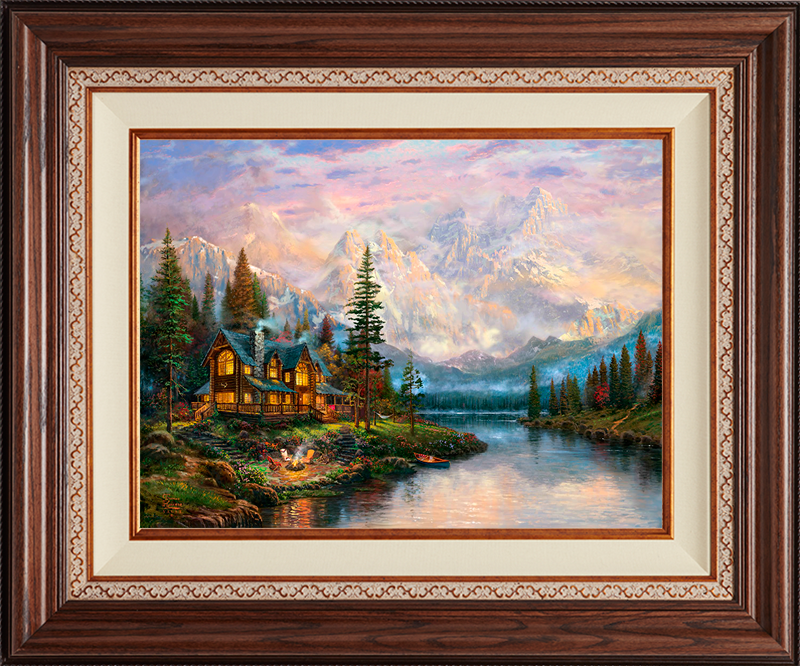 Cathedral Mountain Lodge -Deluxe Walnut-New Walnut