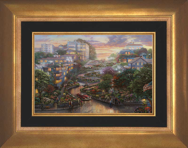 San Francisco, Lombard Street II - Aurora Gold