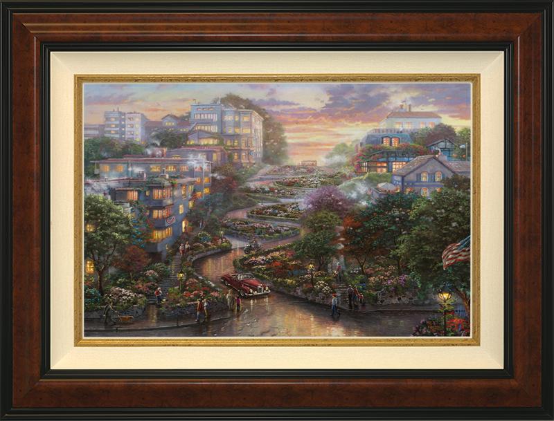 San Francisco, Lombard Street II -Burlwood