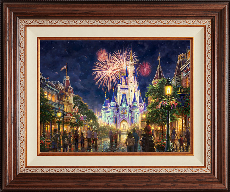 Main Street USA -- Deluxe Walnut