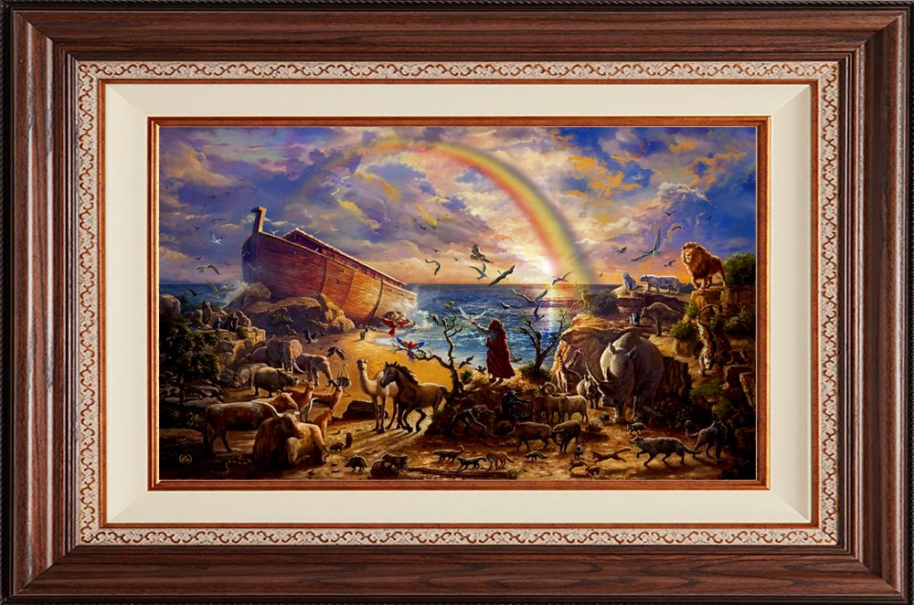 Noah's Ark - Deluxe Walnut-New Walnut