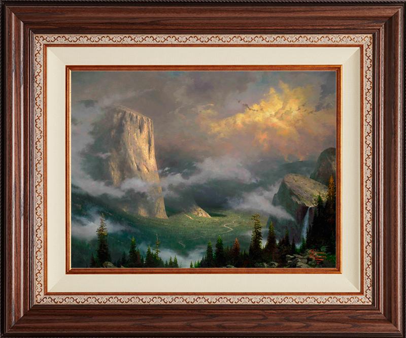West Rim, Yosemite - Deluxe Walnut-New Walnut