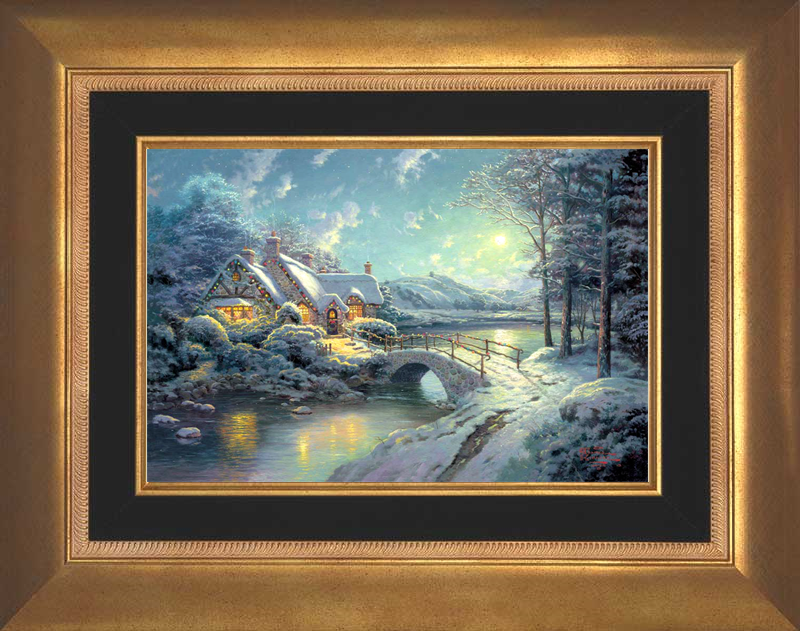 Christmas Moonlight - Aurora Gold