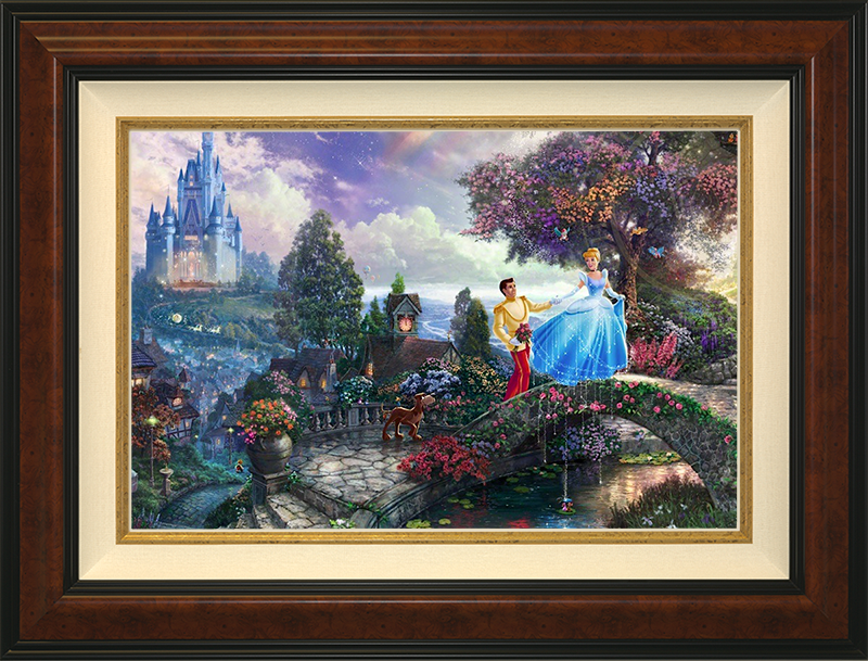 Cinderella Wishes Upon a Dream -Burlwood