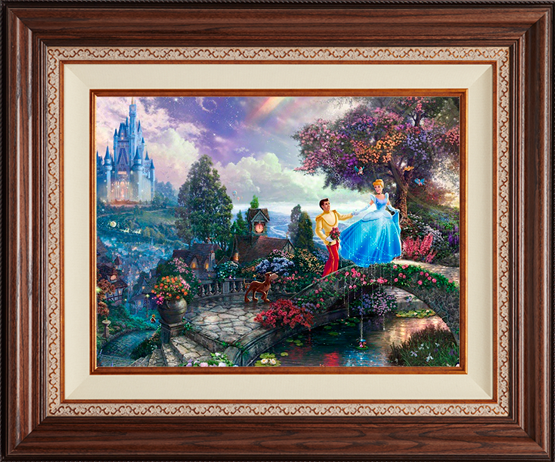 Cinderella Wishes Upon a Dream -Deluxe Walnut-New Wlanut