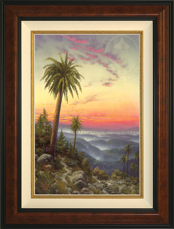 Desert Sunset -- Burlwood