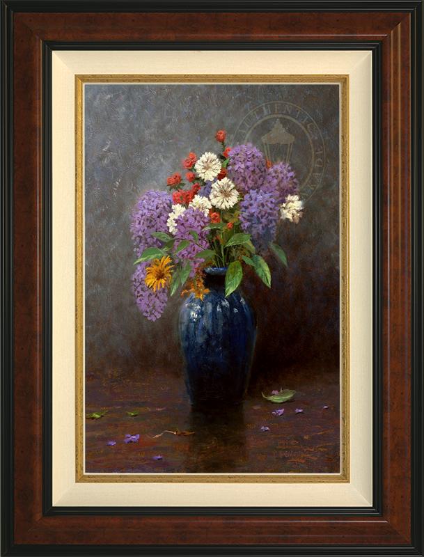 Lilac Bouquet - Burlwood