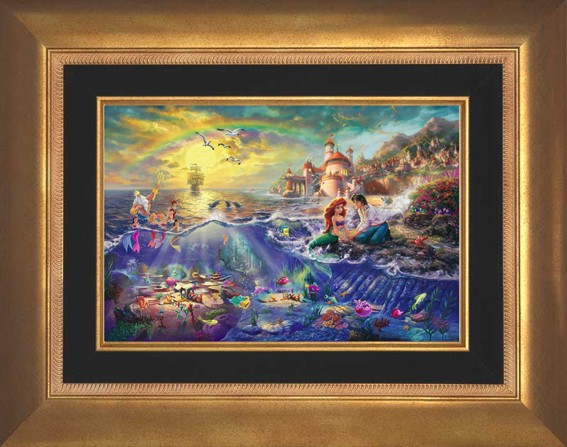 The Little Mermaid - Aurora Gold