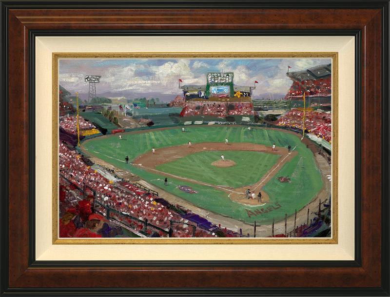 World Series 2002 -- Anaheim -- Burlwood